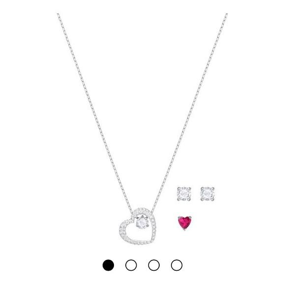 dc757f2da47 Swarovski Love Set (Necklace + Earrings)